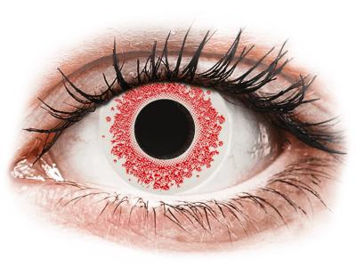 CRAZY LENS - Red Wedding - Tageslinsen ohne Stärke (2 Linsen)