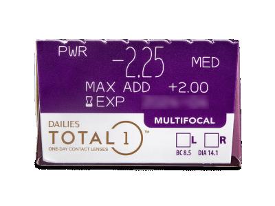 Dailies TOTAL1 Multifocal (30 Linsen) - Vorschau