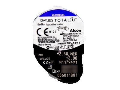 Dailies TOTAL1 Multifocal (30 Linsen) - Blister Vorschau