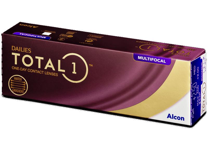 Dailies TOTAL1 Multifocal (30 Linsen) - Multifokale Kontaktlinsen