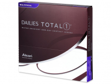 Multifokale Linsen - Dailies TOTAL1 Multifocal (90 Linsen)