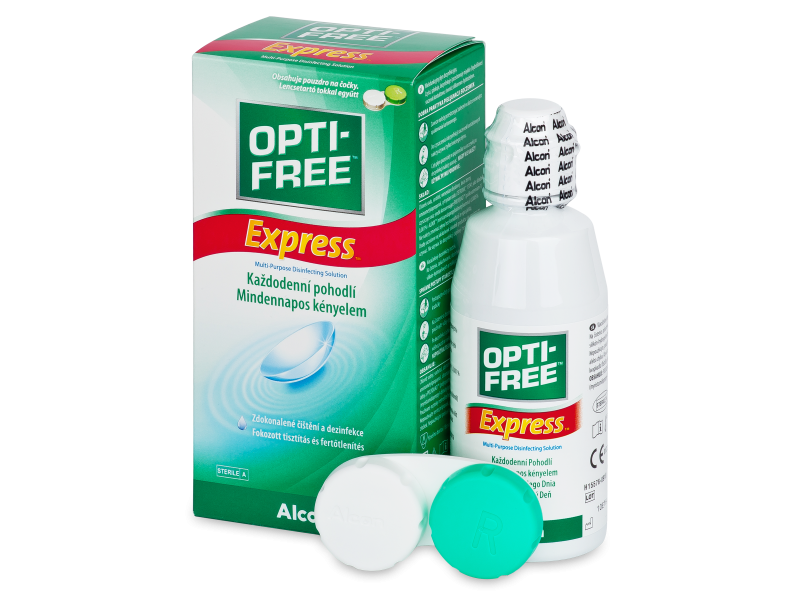 OPTI-FREE Express 120ml  - Reinigungslösung