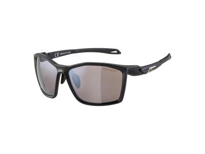 Sonnenbrillen Alpina Twist Five HM+ Black Matt/Black Mirror