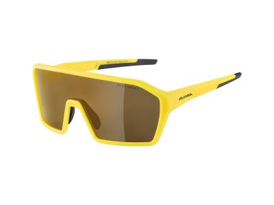 Sonnenbrillen Alpina Ram HM+ Pineapple Matt/Gold Mirror