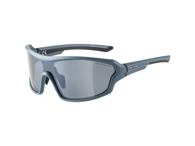 Sonnenbrillen Alpina Lyron Shield P Dirtblue Matt/Black Mirror