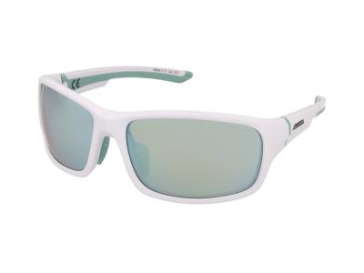 Sonnenbrillen Alpina Lyron S White Matt Pistachio/Emerald Mirror
