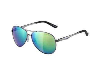 Sonnenbrillen Alpina A 107 Gun Matt/Green Mirror