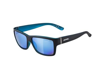 Sonnenbrillen Alpina Kacey Black Matt Blue/Blue Mirror