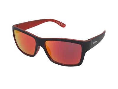 Sonnenbrillen Alpina Kacey Black Matt Red/Red Mirror