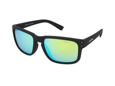 Sonnenbrillen Alpina Kosmic Black Matt/Neon Yellow Mirror