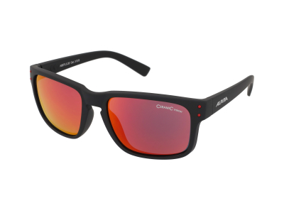 Sonnenbrillen Alpina Kosmic Black Matt/Red Mirror