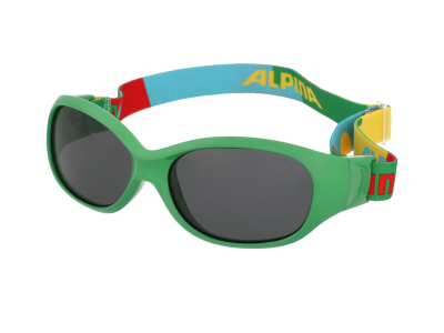 Sonnenbrillen Alpina Sports Flexxy Kids Green Puzzle