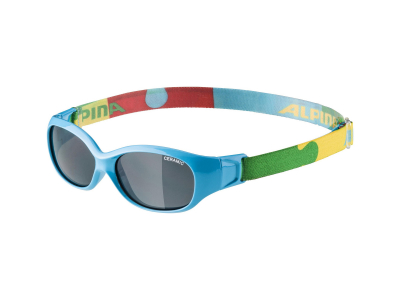 Sonnenbrillen Alpina Sports Flexxy Kids Cyan Puzzle