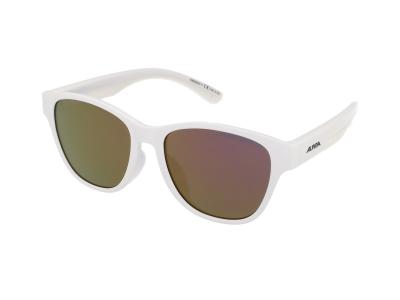 Sonnenbrillen Alpina Flexxy Cool Kids II White/Pink Mirror