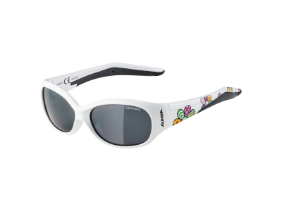 Sonnenbrillen Alpina Flexxy Kids White Flower