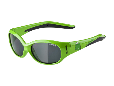 Sonnenbrillen Alpina Flexxy Kids Green Dino