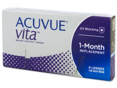 Kontaktlinsen Johnson and Johnson - Acuvue Vita (6 Linsen)