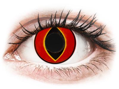 ColourVUE Crazy Lens - Mad Frog - ohne Stärke (2 Linsen)