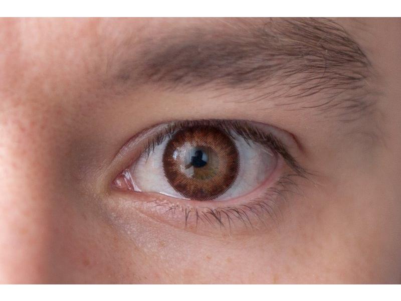 """""""Brown"""" bei einer braunen Augenfarbe"""