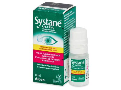 Systane Ultra Augentropfen ohne Konservierungsstoffe 10 ml