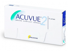 Kontaktlinsen Johnson and Johnson - Acuvue 2 (6 Linsen)