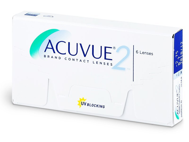 Acuvue 2 (6 Linsen) -  2-Wochen-Kontaktlinsen - Johnson and Johnson