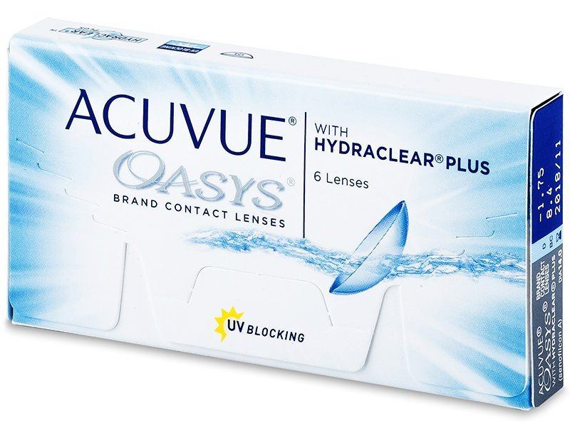 Acuvue Oasys (6 Linsen) -  2-Wochen-Kontaktlinsen - Johnson and Johnson