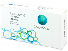 Monatslinsen - Biomedics 55 Evolution (6Linsen)