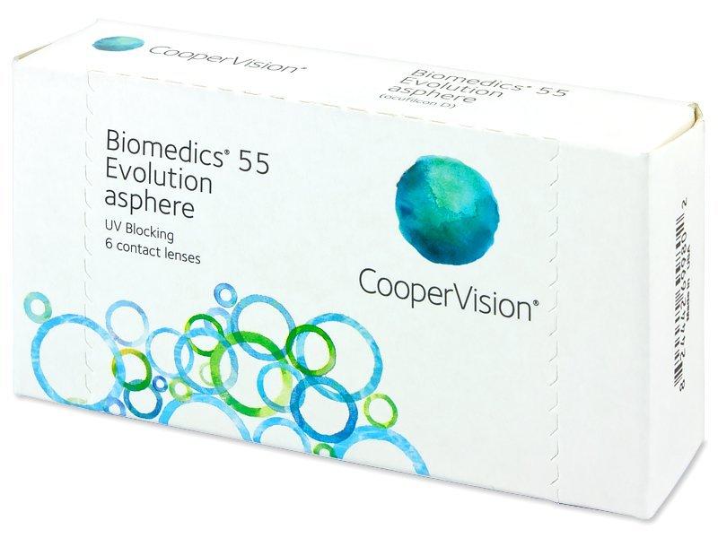 Biomedics 55 Evolution (6Linsen) - Monatslinsen