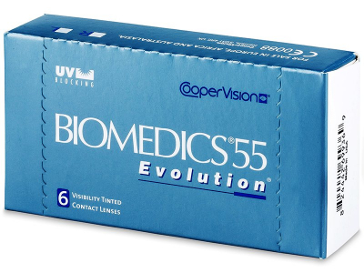 Biomedics 55 Evolution (6Linsen) - Älteres Design