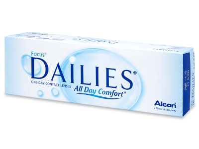 Focus Dailies All Day Comfort (30 Linsen)