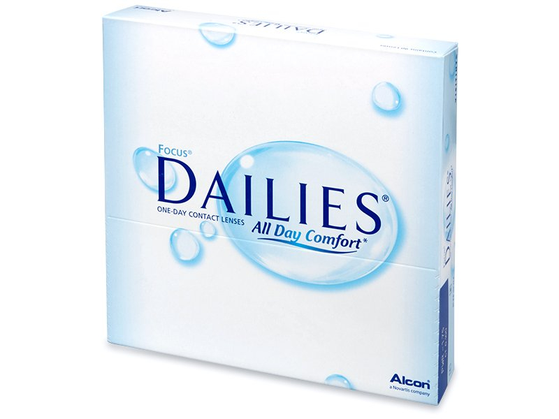 Focus Dailies All Day Comfort (90 Linsen) - Tageslinsen - Alcon