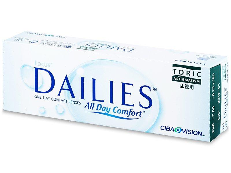 Focus Dailies Toric (30Linsen) - Torische Kontaktlinsen - Alcon