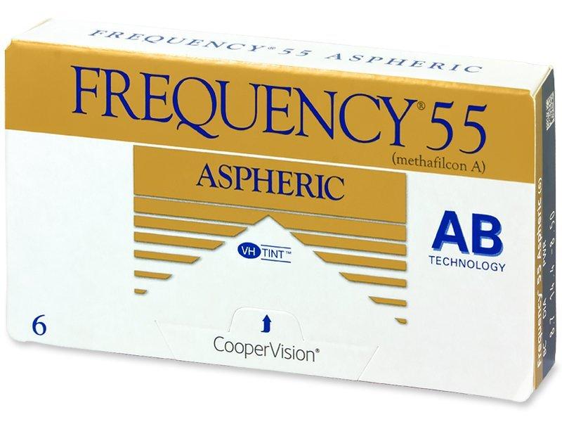 Frequency 55 Aspheric (6Linsen) - Monatslinsen