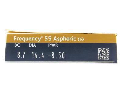 Frequency 55 Aspheric (6Linsen) - Vorschau