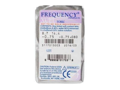 FREQUENCY XCEL TORIC (3Linsen) - Blister Vorschau