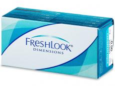 Kontaktlinsen Alcon (Ciba Vision) - FreshLook Dimensions - ohne Stärke (2Linsen)