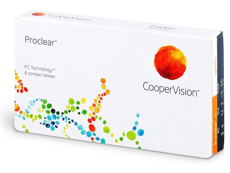 Proclear Sphere (6Linsen) - Monatslinsen