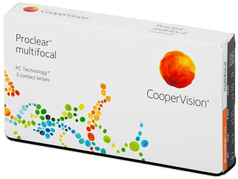 Proclear Multifocal (3Linsen) - Multifokale Kontaktlinsen