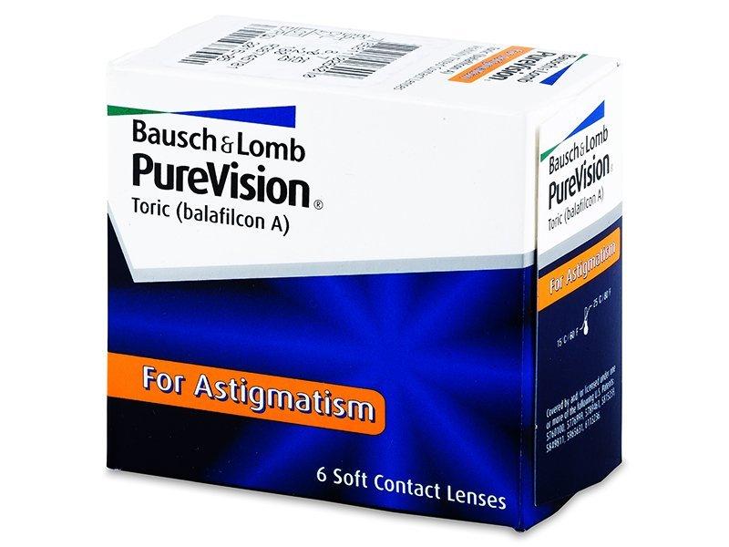 PureVision Toric (6Linsen) - Torische Kontaktlinsen - Bausch and Lomb