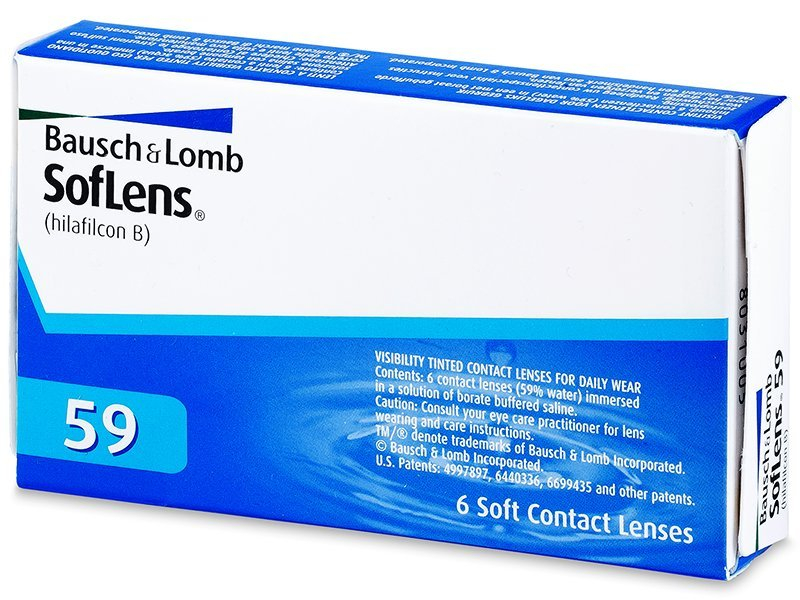 SofLens 59 (6Linsen) - Monatslinsen - Bausch and Lomb
