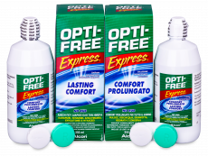 OPTI-FREE Express 2x355ml  - Economy duo pack- solution