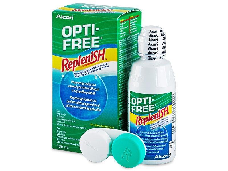 OPTI-FREE RepleniSH 120ml  - Reinigungslösung  - Alcon
