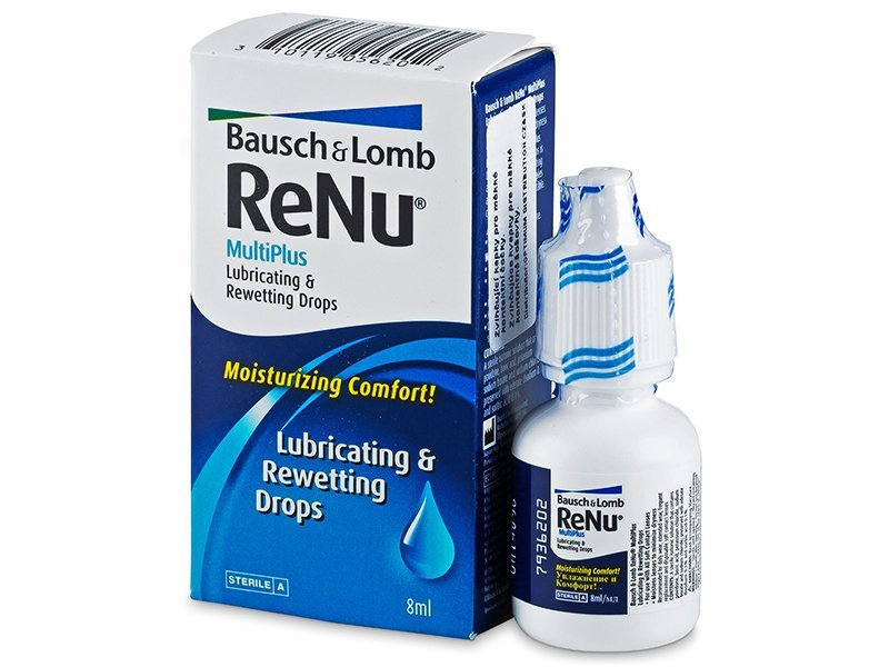 ReNu MultiPlus Drops 8 ml  - Augentropfen - Bausch and Lomb