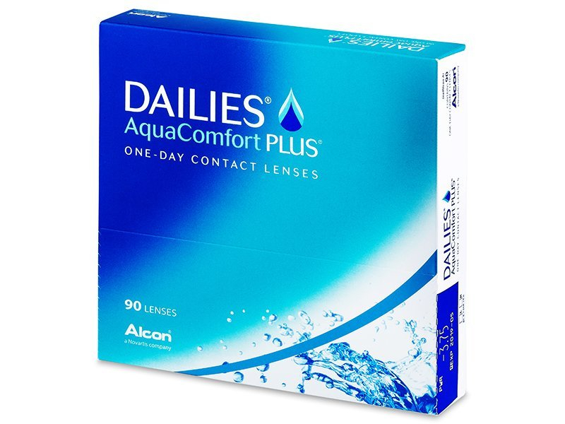 Dailies AquaComfort Plus (90Linsen) - Tageslinsen - Alcon