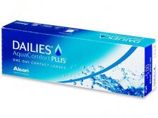 Kontaktlinsen Dailies - Dailies AquaComfort Plus (30Linsen)