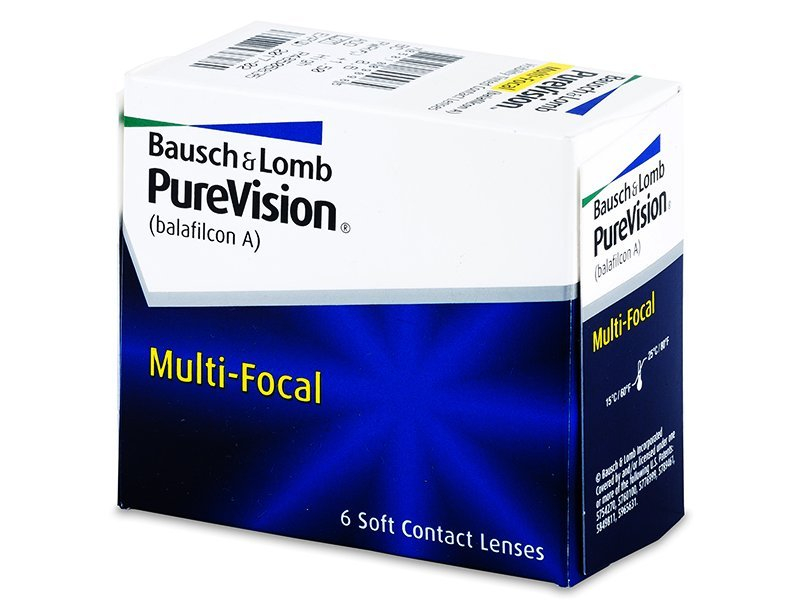 PureVision Multi-Focal (6 Linsen) - Multifokale Kontaktlinsen - Bausch and Lomb