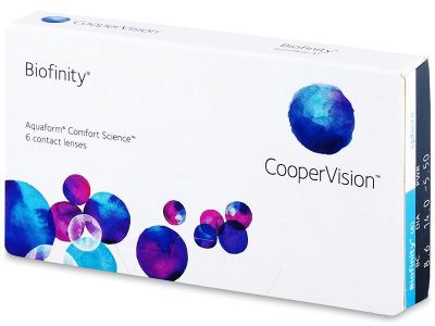 Monatslinsen - Biofinity (6Linsen)