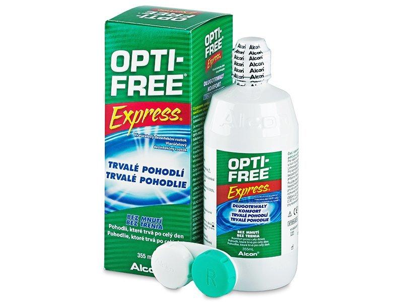 OPTI-FREE Express 355ml  - Reinigungslösung  - Alcon