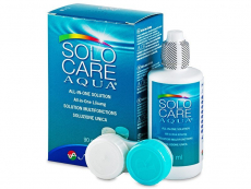 Pflegemittel für Kontaktlinsen - SoloCare Aqua 90ml